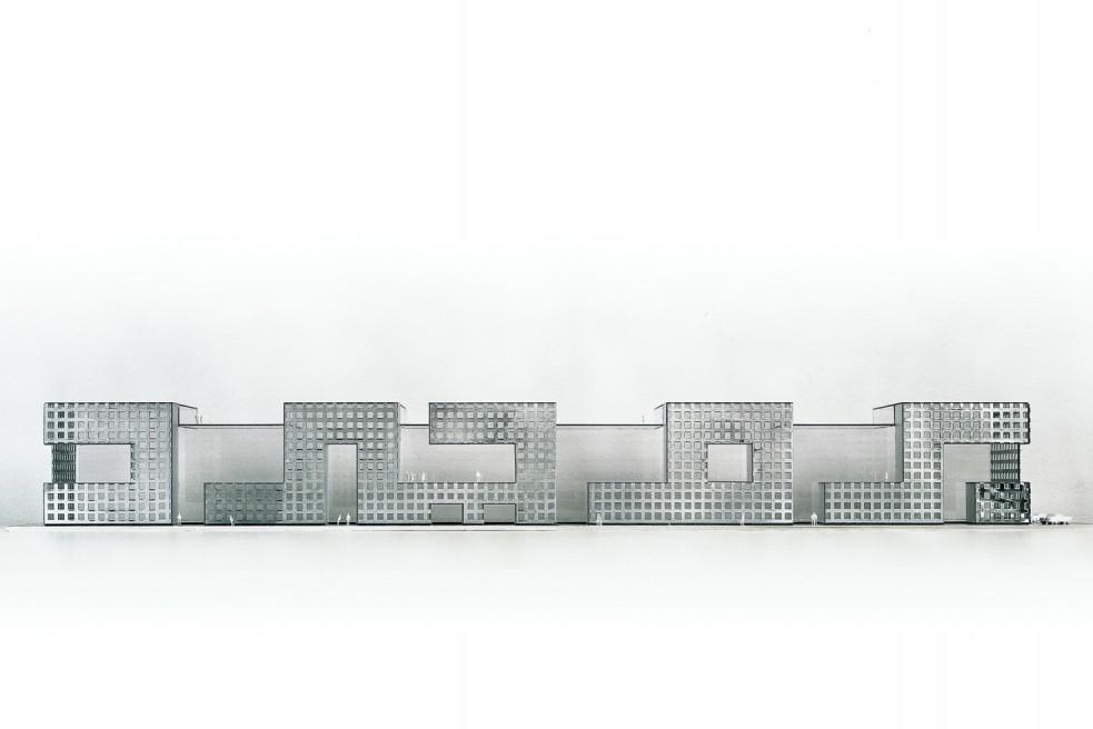 Modell, Daneshgar Architects, Wien