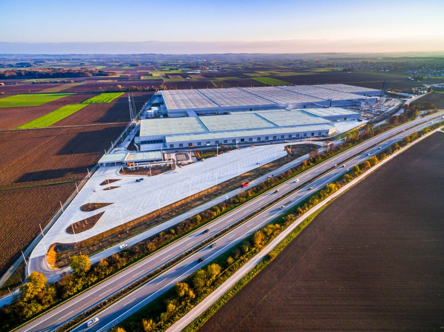 Dibag AG, BMW-Logistikzentrum, Wallersdorf